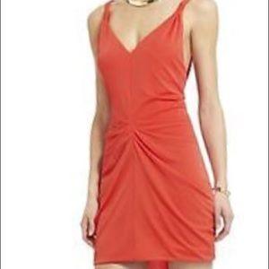 BCBG Max Azria Terrianne V-neck Dress